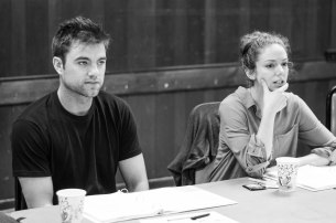 "1st Table Read of ""Shining City"" @ BSC. Patrick Ball &; Deanna Gibson"